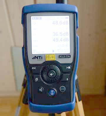 Geeichtes Schallpegelmessgerät